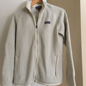 Patagonia better sweater jacket off white M